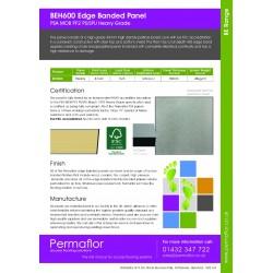 BEH600V - Polyflor Faxten - Permaflor - 23.40 - BEH600V - Polyflor Faxten - PSA Medium Grade 42mm  x 600mm x 600mm Panel