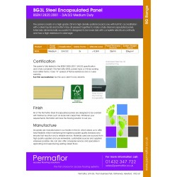 BG3L - Permaflor - 9.54 - Bathgate BG3L - BSEN Medium Duty 26mm  x 600mm x 600mm Panel