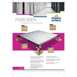 FDEB1 - Kingspan - 16.24 - Kingspan FDEB1 - BSEN 31mm x 600mm x 600mm with Polyflor SD