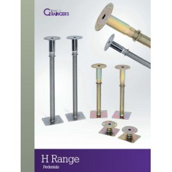 H0 - Isaac Grainger - 1.87 - 40/50mm - PSA Medium / Heavy Grade Pedestal